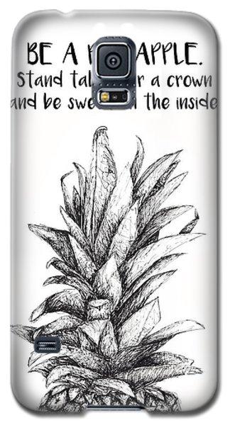 Pineapple Galaxy S5 Case by Nancy Ingersoll