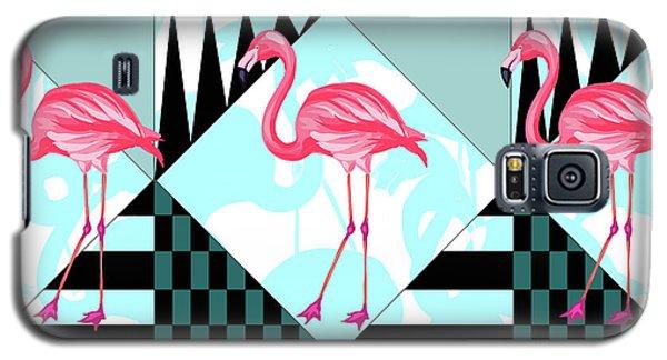 Ping Flamingo Galaxy S5 Case by Mark Ashkenazi