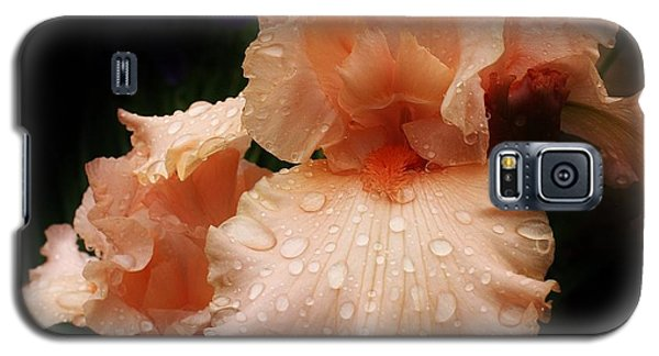 Pink Iris 1 Galaxy S5 Case by Bruce Bley