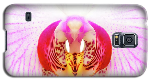 Pink Orchid Galaxy S5 Case by Dave Bowman