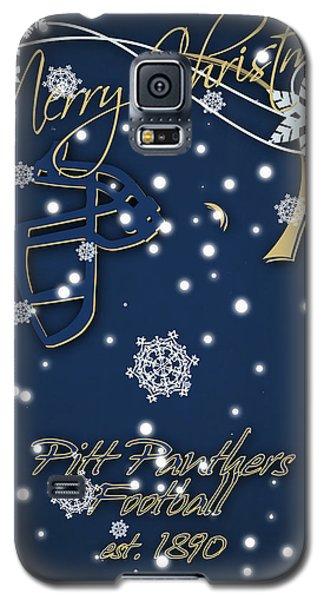 Pitt Panthers Christmas Cards Galaxy S5 Case by Joe Hamilton