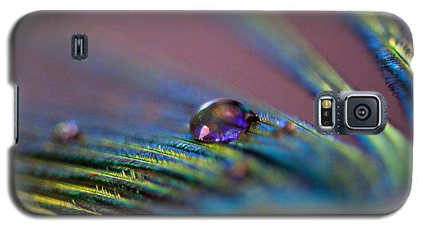 Plum Heart Galaxy S5 Case by Lisa Knechtel