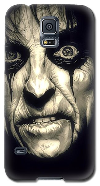 Poison Alice Cooper Galaxy S5 Case by Fred Larucci