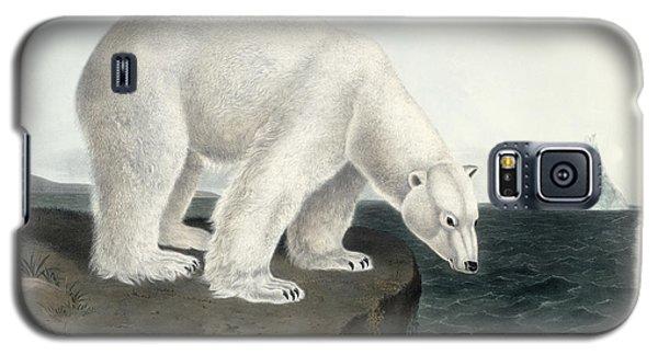 Polar Bear Galaxy S5 Case by John James Audubon