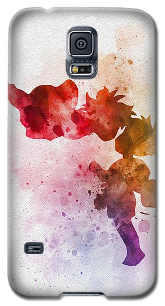 Ponyo Galaxy S5 Case by Rebecca Jenkins