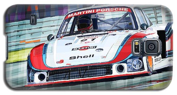 Porsche 935 Coupe Moby Dick Martini Racing Team Galaxy S5 Case by Yuriy  Shevchuk