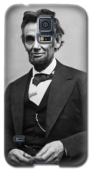Portrait Of President Abraham Lincoln Galaxy S5 Case by International  Images