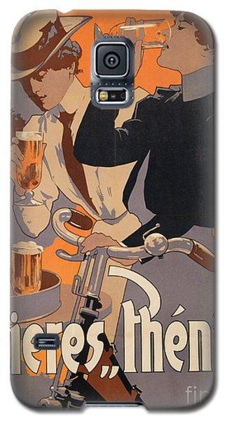 Poster Advertising Phenix Beer Galaxy S5 Case by Adolf Hohenstein