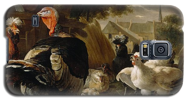 Poultry Yard Galaxy S5 Case by Melchior de Hondecoeter