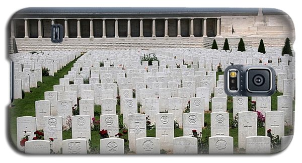 Galaxy S5 Case featuring the photograph Pozieres British Cemetery by Travel Pics