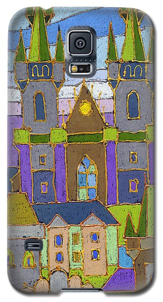 Pastels Galaxy S5 Cases - Prague Panorama Galaxy S5 Case by Yuriy  Shevchuk
