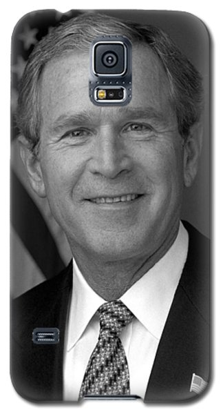 President George W. Bush Galaxy S5 Case by War Is Hell Store