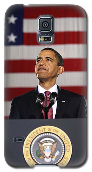 President Obama Galaxy S5 Case by War Is Hell Store
