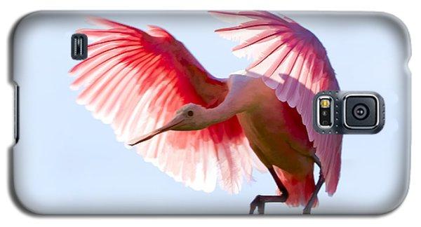 Pretty In Pink Galaxy S5 Case by Janet Fikar