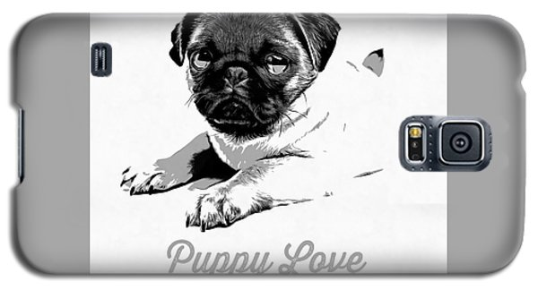 Puppy Love Galaxy S5 Case by Edward Fielding