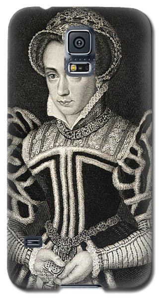 Queen Mary Aka Mary Tudor Byname Bloody Galaxy S5 Case by Vintage Design Pics