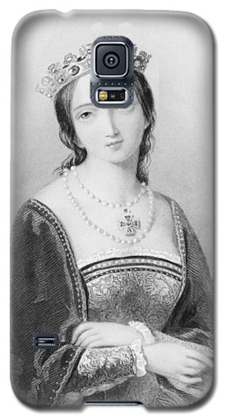 Queen Mary I, Aka Mary Tudor, Byname Galaxy S5 Case by Vintage Design Pics