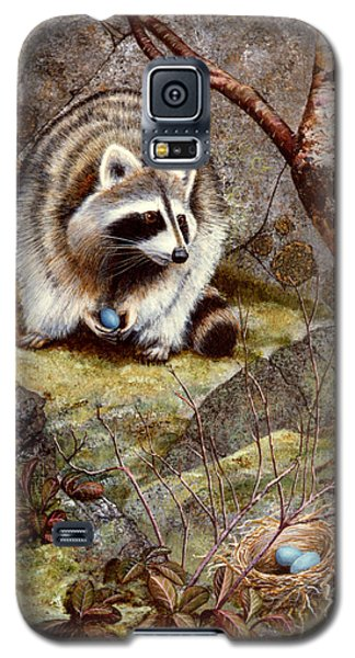 Raccoon Found Treasure  Galaxy S5 Case by Frank Wilson