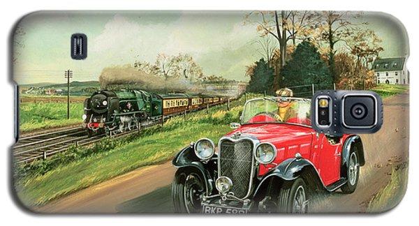 Racing The Train Galaxy S5 Case by Richard Wheatland