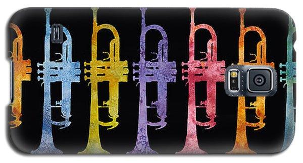 Rainbow Of Trumpets Galaxy S5 Case by Jenny Armitage