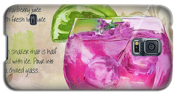 Rasmopolitan Mixed Cocktail Recipe Sign Galaxy S5 Case by Mindy Sommers