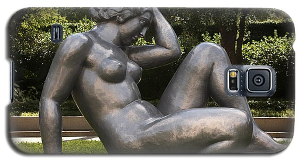 Sculptures Galaxy S5 Cases - Reclining Nude Sculpture  Galaxy S5 Case by Mountain Dreams