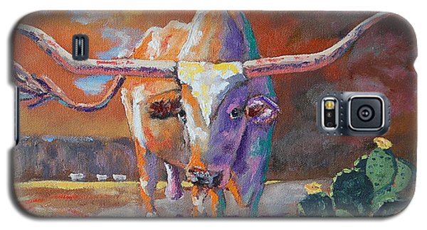 Red River Showdown Galaxy S5 Case by J P Childress