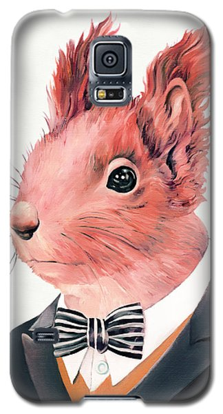 Red Squirrel Galaxy S5 Case by Animal Crew