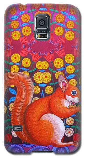 Red Squirrel Galaxy S5 Case by Jane Tattersfield