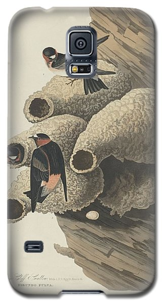 Republican Cliff Swallow Galaxy S5 Case by John James Audubon