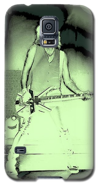 Rick Savage - Def Leppard Galaxy S5 Case by David Patterson