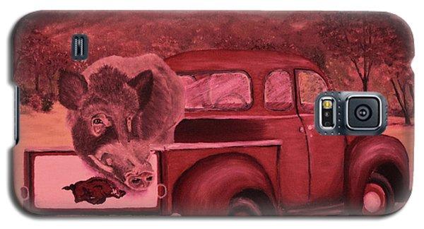 Ridin' With Razorbacks 3 Galaxy S5 Case by Belinda Nagy