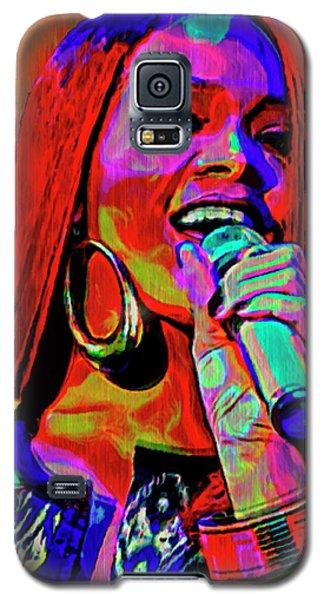 Rihanna  Galaxy S5 Case by  Fli Art
