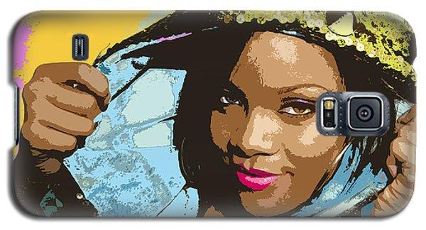 Rihanna Galaxy S5 Case by John Keaton