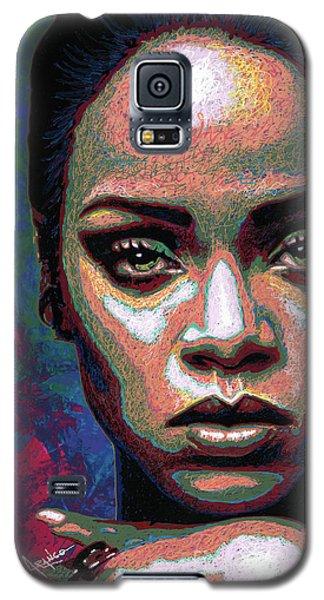 Rihanna Galaxy S5 Case by Maria Arango