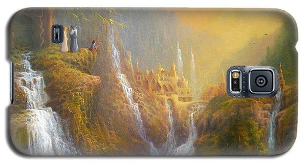 Rivendell Wisdom Of The Elves. Galaxy S5 Case by Joe  Gilronan