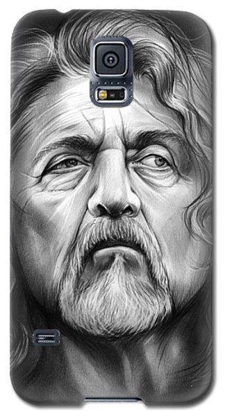Robert Plant Galaxy S5 Case by Greg Joens