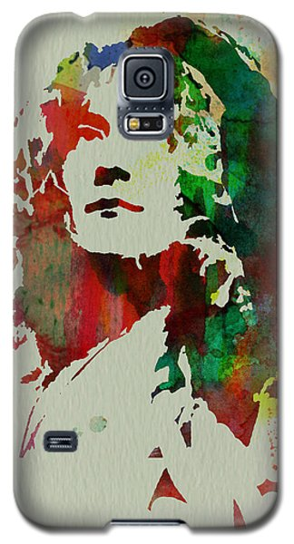 Robert Plant Galaxy S5 Case by Naxart Studio