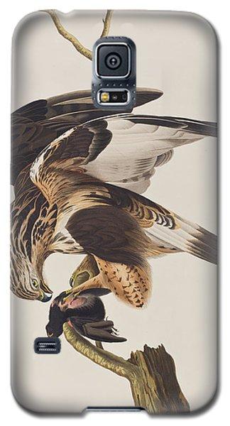 Rough Legged Falcon Galaxy S5 Case by John James Audubon