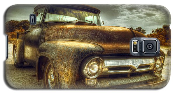 Rusty Truck Galaxy S5 Case by Mal Bray