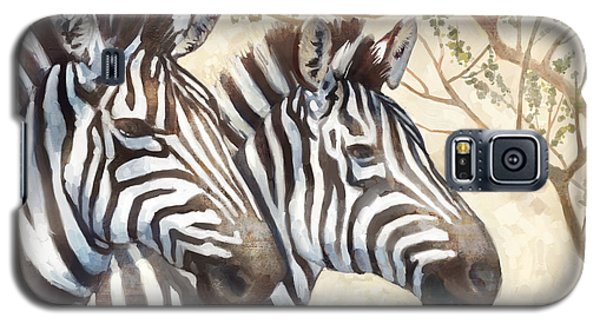 Safari Sunrise Galaxy S5 Case by Mauro DeVereaux