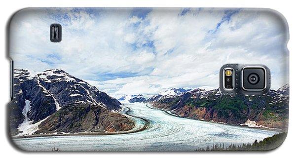 Salmon Glacier Galaxy S5 Case by Heidi Brand