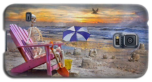 Sam's  Sandcastles Galaxy S5 Case by Betsy Knapp