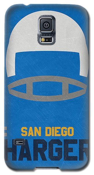 San Diego Chargers Vintage Art Galaxy S5 Case by Joe Hamilton