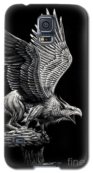 Screaming Griffon Galaxy S5 Case by Stanley Morrison