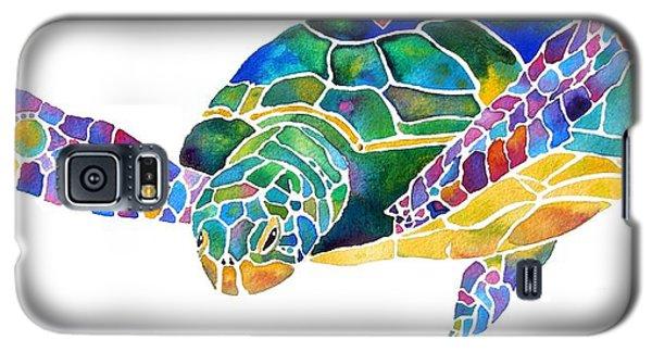 Sea Turtle Celebration 4 Prints Only Galaxy S5 Case by Jo Lynch