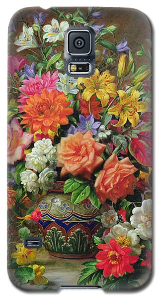 September Flowers   Symbols Of Hope And Joy Galaxy S5 Case by Albert Williams