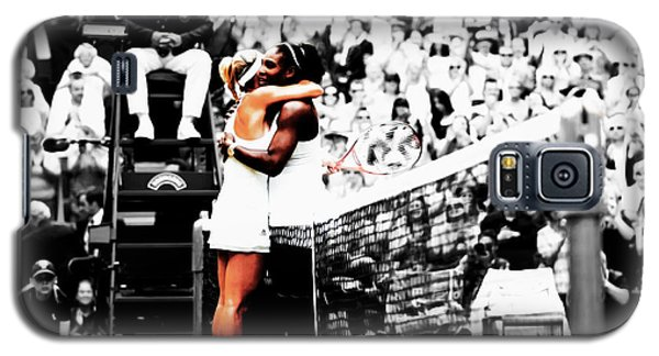 Serena Williams And Angelique Kerber 1a Galaxy S5 Case by Brian Reaves