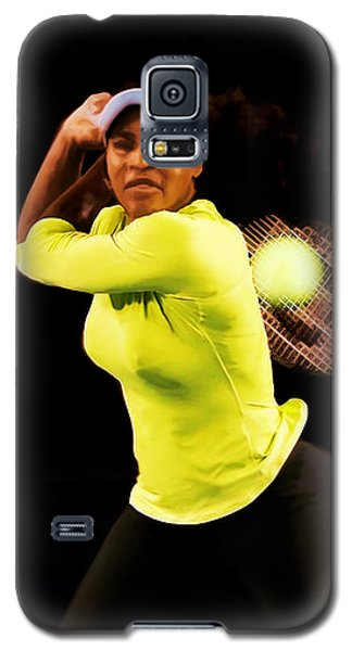 Serena Williams Bamm Galaxy S5 Case by Brian Reaves
