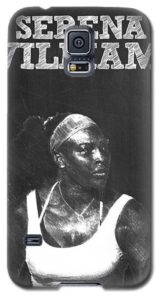 Serena Williams Galaxy S5 Case by Semih Yurdabak
